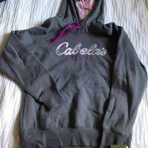 NWT Cabela's Sweatshirt